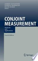 Conjoint Measurement Book PDF