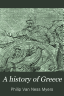 A History of Greece for Colleges and High Schools