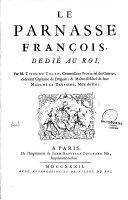 Le Parnasse François, dédié au Roi ...