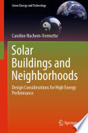 Solar Buildings and Neighborhoods