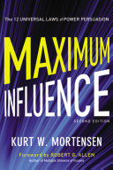 Maximum Influence Pdf/ePub eBook