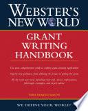 Webster s New World Grant Writing Handbook