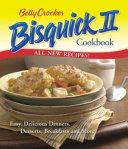 Betty Crocker Bisquick II Cookbook Book