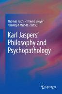 Pdf Karl Jaspers' Philosophy and Psychopathology Telecharger