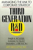 Third Generation R D