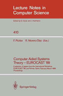 Computer Aided Systems Theory   EUROCAST  89