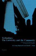 Technology  the University and the Community