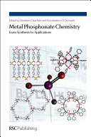 Metal Phosphonate Chemistry