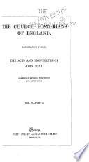 The Church Historians of England     Book