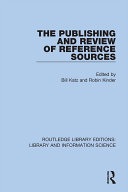 Pdf The Publishing and Review of Reference Sources