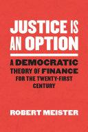 Justice Is an Option Pdf/ePub eBook