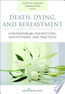 Death Dying And Bereavement Book