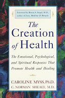 The Creation of Health Book