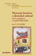 Memoria histórica e identidad cultural