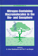 Nitrogen containing Macromolecules in the Bio  and Geosphere Book