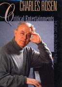 Pdf Critical Entertainments