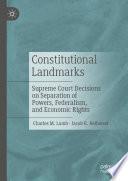 Constitutional Landmarks