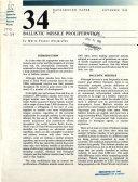 Ballistic Missile Proliferation Book