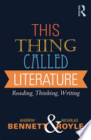 This Thing Called Literature