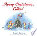 Merry Christmas  Ollie  Book