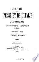 Guerre de la Prusse et de l'Italie