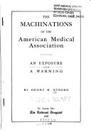 The Machinations of the American Medical Association
