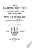 The Baltimore City Code
