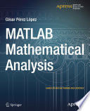 MATLAB Mathematical Analysis