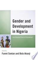 Gender And Development In Nigeria