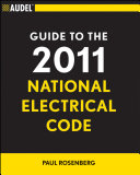 Audel Guide to the 2011 National Electrical Code