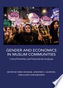 Gender and Economics in Muslim Communities