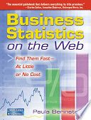 Business Statistics on the Web