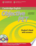 Objective Pet Student S Book With Answers With Cd Rom Book PDF