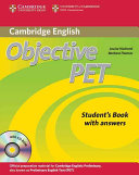Objective PET Student s Book with Answers with CD ROM