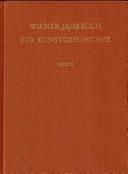 Wiener Jahrbuch für Kunstgeschichte. XXXIX. 1986.