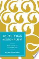 South Asian Regionalism Book