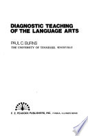Diagnostic teaching of the language arts