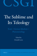 The Sublime and Its Teleology