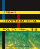 Urban Environmental Policy Analysis