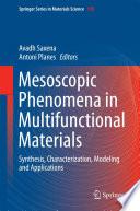 Mesoscopic Phenomena in Multifunctional Materials