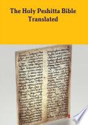 The Peshitta Holy Bible Translated Book PDF