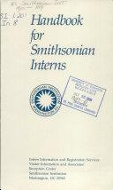 Handbook for Smithsonian Interns Book