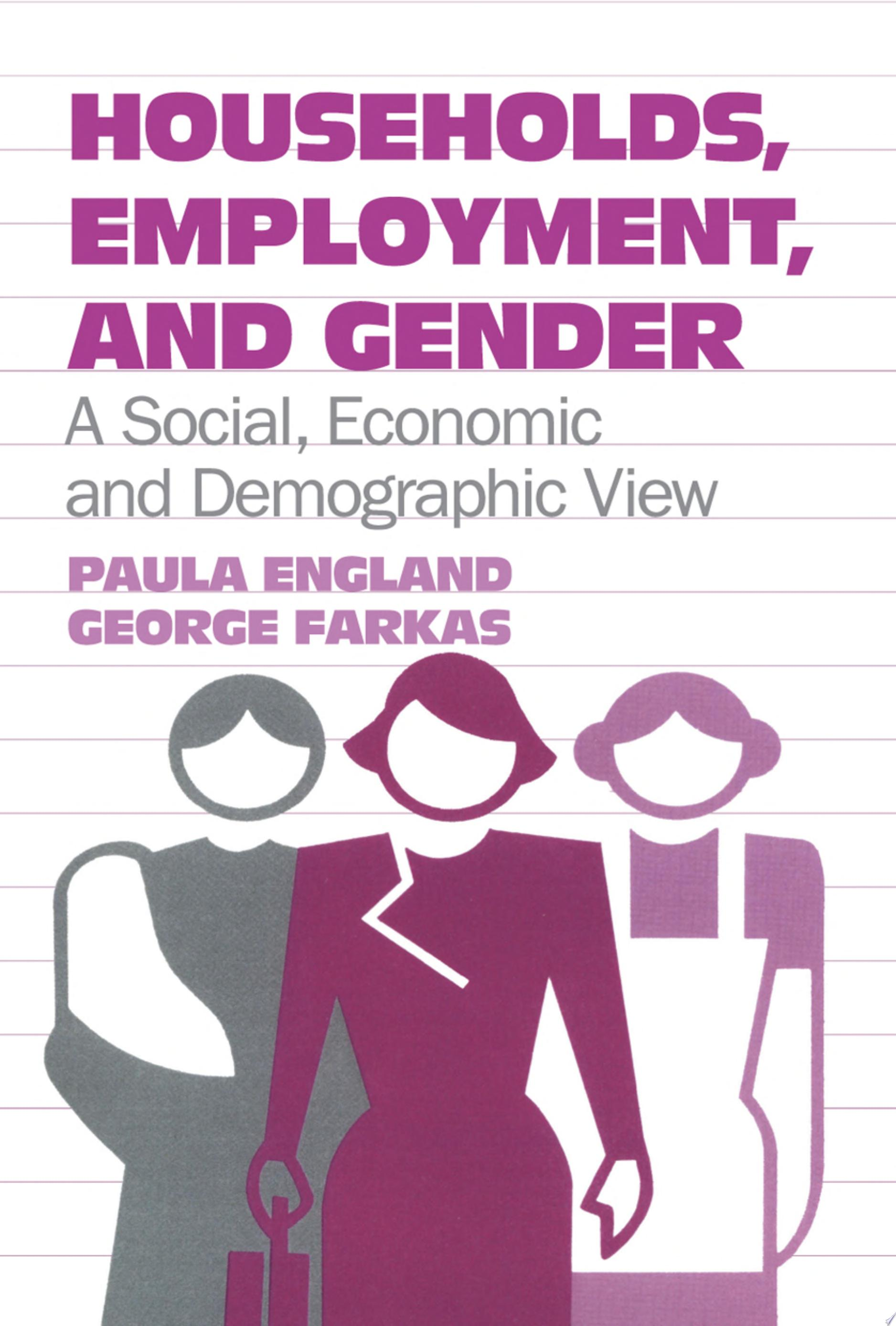 Households  Employment  and Gender