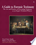A Guide To Forensic Testimony Book PDF