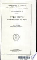 Citrus Fruits, World Production and Trade