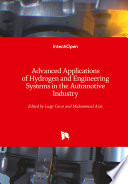 Advanced Applications of Hydrogen and Engineering Systems in the Automotive Industry