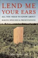 Lend Me Your Ears