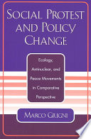 Social Protest And Policy Change Book PDF