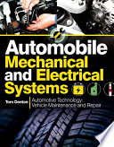 """""""Automobile Mechanical and Electrical Systems"""" by Tom Denton"""