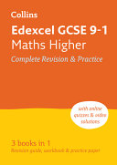 Edexcel GCSE 9 1 Maths Higher All In One Complete Revision and Practice  for the 2020 Autumn and 2021 Summer Exams  Collins GCSE Grade 9 1 Revision